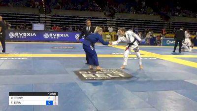 KAREN ANTUNES vs FFION DAVIES 2019 Pan Jiu-Jitsu IBJJF Championship