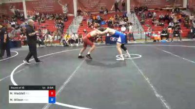 86 kg Prelims - Matthew Waddell, Regional Training Center South vs Myles Wilson, Hawkeye Wrestling Club