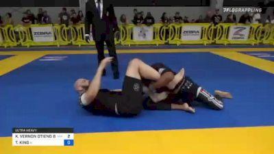 KENNETH VERNON OTIENO BROWN vs TYLER KING 2021 Pan IBJJF Jiu-Jitsu No-Gi Championship