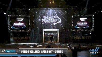 Fusion Athletics Green Bay - Queens [2021 L2.1 Junior - PREP - D2 Day 1] 2021 The U.S. Finals: Louisville
