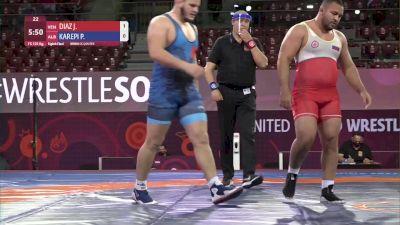 125 kg Jose Robertti, VEN vs Paris Karepi, ALB