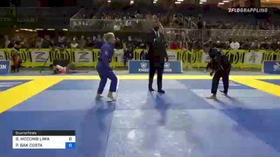GABRIELLE MCCOMB LIMA vs PAULINE BAK COSTA 2021 Pan Jiu-Jitsu IBJJF Championship