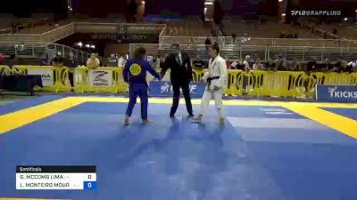 GABRIELLE MCCOMB LIMA vs LUIZA MONTEIRO MOURA DA COSTA 2020 Pan Jiu-Jitsu IBJJF Championship