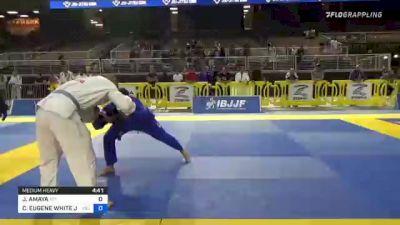 JORGE AMAYA vs CHARLES EUGENE WHITE JR 2021 Pan Jiu-Jitsu IBJJF Championship