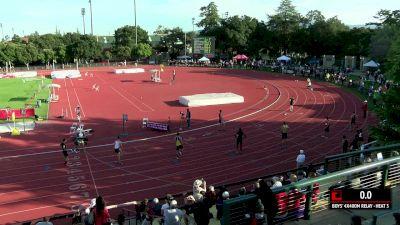 Men's 4x400m Relay, Heat 3 - High School