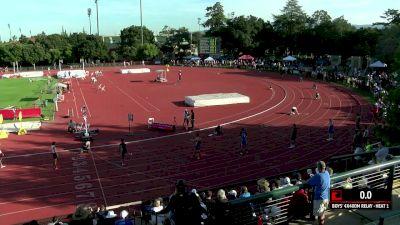 Men's 4x400m Relay, Heat 1 - High School