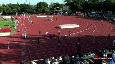 Women's 4x400m Relay, Heat 4 - High School