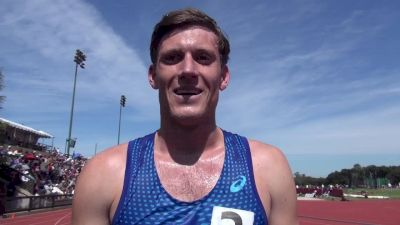 Chris Low gets the 800m victory at Stanford Invite