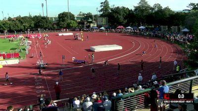 Women's 4x400m Relay, Heat 3 - High School