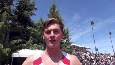 Future CU Buff Connor Dunne runs fastest high school 800m and 1 second PB at Stanford Invite