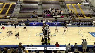 Bishop O'Dowd vs Temecula Valley- 2018 Girls California State Volleyball Championships