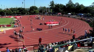 Men's Distance Medley Relay, Heat 1 - High School