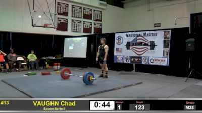 Chad Vaughn Goes 130/160/290