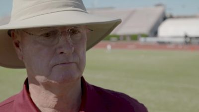 Texas A&M head coach Pat Henry's reaction to college rankings