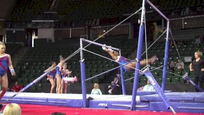 Simone Biles Full Bar Routine(USA) - 2016 Pac Rims Podium Training