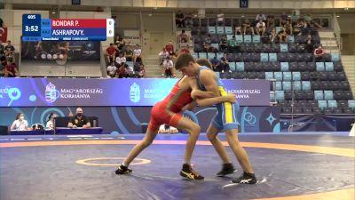 48 kg Final 3-5 - Pavel Borisovitch Bondar, Russia vs Yussuf Ashrapov, Kazakhstan