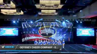 Odyssey Cheer Company - Electric Storm [2021 L2 Junior - D2 - B Day 2] 2021 ACP Southern National Championship