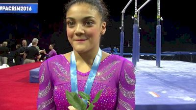 Laurie Hernandez- No Nerves, All Confidence After Strong Camp (USA) - 2016 Pac Rims Team & AA Final