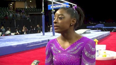 Simone Biles On 2016 Debut (USA) - 2016 Pac Rims Team & AA Final