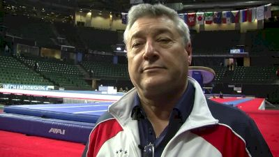 Mihai Brestyan On Aly Raisman's Beam Score And Her Progress Towards The Olympics - 2016 Pac Rims