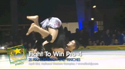 John Combs vs Nicholas Brown Fight To Win Pro 4