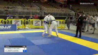 ROBERT DONALD NIELSEN vs DARRIN JOSEPH HOMME 2021 Pan Jiu-Jitsu IBJJF Championship