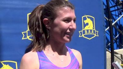 Brook Handler surprises herself with BAA Invite Mile win, her first pro victory