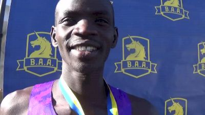 Stephen Sambu thinks Bernard Lagat can run under 27:50 in 10k