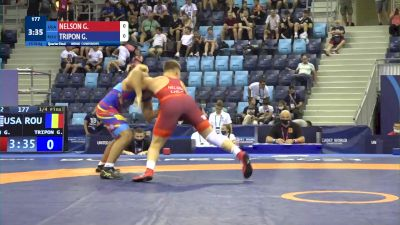92 kg 1/4 Final - Gavin Allen Nelson, United States vs Georgian Florin Tripon, Romania