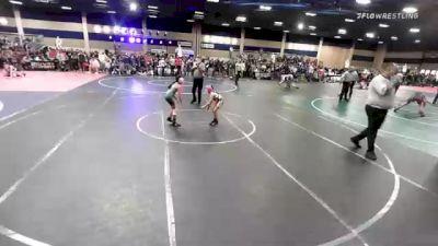 64 lbs Semifinal - Lauren Cisneros-flores, Hawkeye/Speakeasy WC vs Elise Albeso, Team Aggression