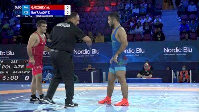 70 kg 1/2 Final - Magomedmurad Gadzhiev, Poland vs Turan Bayramov, Azerbaijan