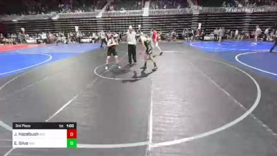 116 lbs 3rd Place - Jagen Hazelbush, Rco vs Ethan Silva, Individual
