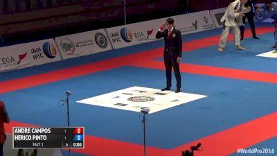 Renato Cardoso vs Lucio Rodrigues Black Belt Absolute 2016 World Pro