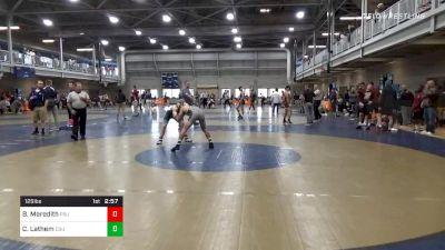 Quarterfinal - Brandon Meredith, Penn State vs Cameron Lathem, Cleveland State