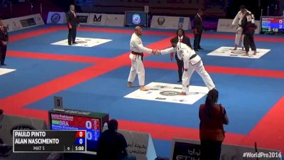 Lucio Rodrigues vs Ricardo Evangelista 2016 World Pro