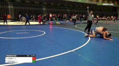 157 lbs Round of 32 - Anthony Padilla, UN-University Of Arizona vs Parker Simington, Air Force