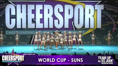 World Cup - Suns [2019 Medium Senior 5 Day 1] CHEERSPORT Nationals: Friday Night Live