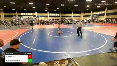 65 lbs 3rd Place - Antonio Aguilar, Red Wave vs Austin Armstrong, East Idaho Elite