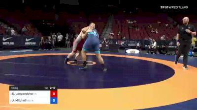 130 kg Semis - Donny Longendyke, Minnesota vs Jacob Mitchell, Army (WCAP)