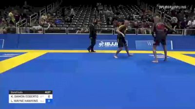 KEVIN DAMON EDGERTON vs LOYD WAYNE HAWKINS JR. 2021 World IBJJF Jiu-Jitsu No-Gi Championship