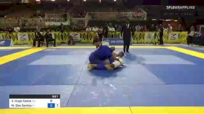 Victor Hugo Costa vs Max Dos Santos 2021 Pan Jiu-Jitsu IBJJF Championship