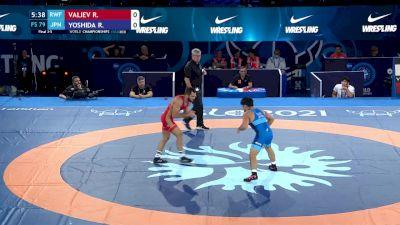 79 kg Final 3-5 - Radik Valiev, Russian Wrestling Federation vs Ryuki Yoshida, Japan