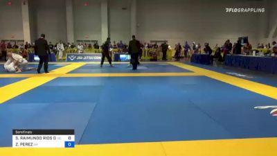 SERGIO RAIMUNDO RIOS DA SI vs ZIMITRO PEREZ 2021 American National IBJJF Jiu-Jitsu Championship