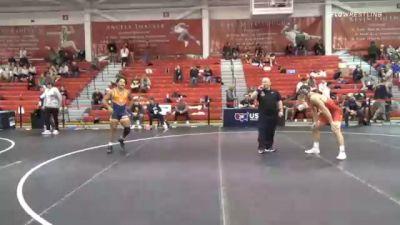 70 kg Consolation - Caleb Dowling, West Virginia Regional Training Center vs Denton Spencer, Cavalier Wrestling Club