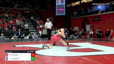 184 lbs Prelims - Billy Janzer, Rutgers vs Jack Jessen, Northwestern