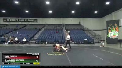 119 lbs 7th Place Match - Kyle Gibson, Virginia vs Charleston Baglio, North Carolina
