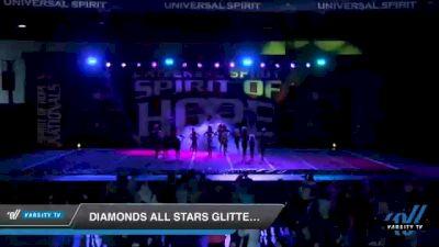Diamonds All Stars Glitter girls [2021 Youth 1 Day 2] 2021 Universal Spirit: Spirit of Hope National Championship