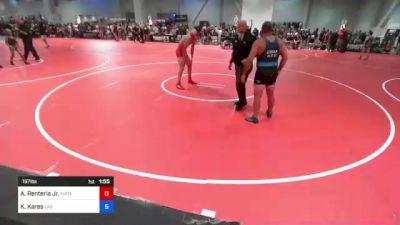 197 lbs Rr Rnd 5 - Armando Renteria Jr., Phox Raw WC vs Kevin Kares, Las Vegas WC