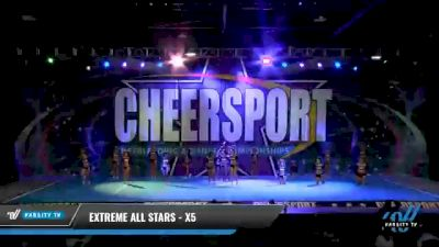 Extreme Cheer - X5 [2021 L5 Senior - D2 Day 2] 2021 CHEERSPORT National Cheerleading Championship