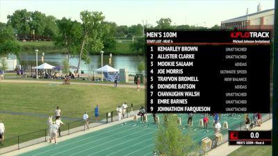 Men's 100m, Heat 6 - Trayvon Bromell season opener